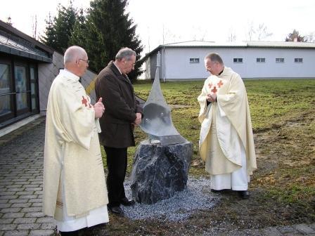 Pflugschar mit Stockinger, Fraissl und Mildekan Steiner