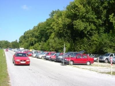 besucherparkplatz