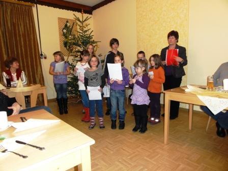 Jahreshauptversammlung Dorfgemeinschaft