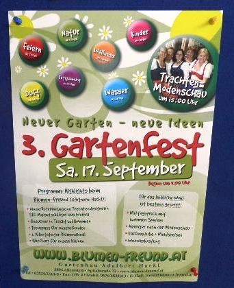 3. Gartenfest bei Hackl