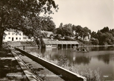 Bootshaus am See