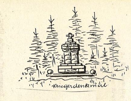 Kriegerdenkmal ehemals am Kalvarienberg