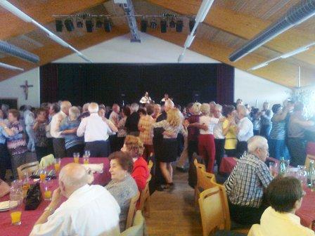Senioren tanzten in Echsenbach