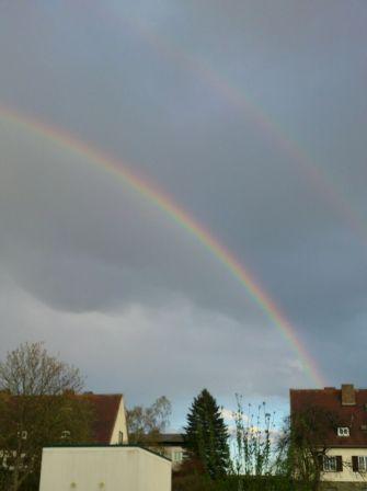 Regenbogen über Allentsteig